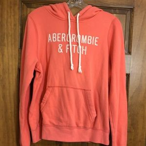 Womens Abercrombie & Fitch Hoodie Sweatshirt Large